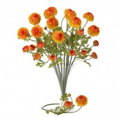 "23"" Ranunculus Stem (Set of 12) - Orange"