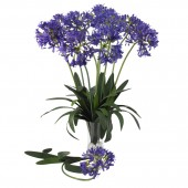 "29"" African Lily Stem (Set of 12) - Purple"